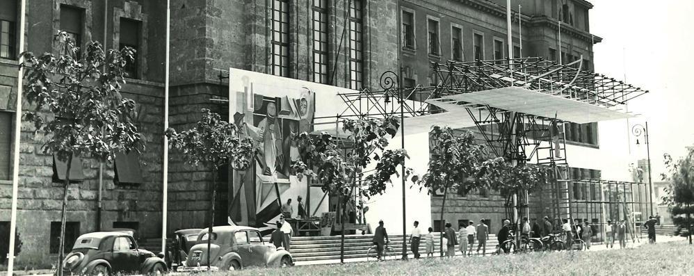 Bergamo e quell'estate del 1950 Quando la città ebbe la sua «Expo»