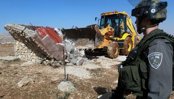 31 ong, ondata demolizioni Cisgiordania
