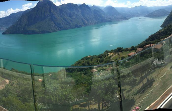 Il panorama dal Panoramico