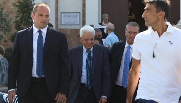 Mattarella lascia villa Rosebery