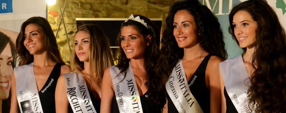 Miss Italia, le selezioni a Brusaporto Premiate anche due bergamasche