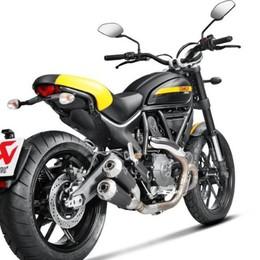 Ducati Scrambler  Rombo Akrapovič