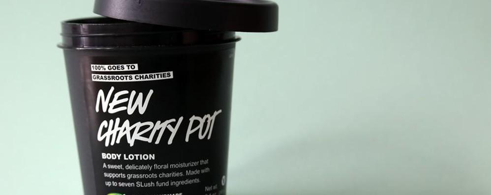 Lush a Orio: una crema solidale per aiutare i bambini disabili