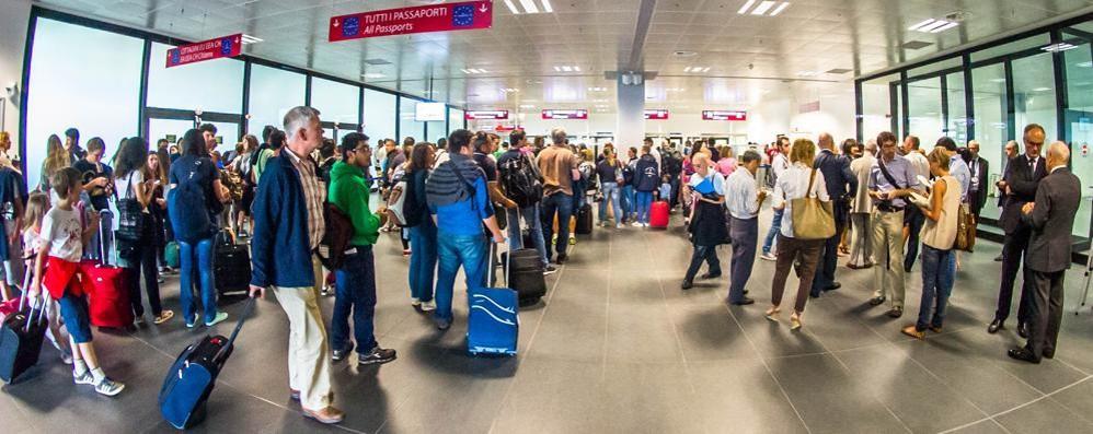 Luglio, record assoluto per Orio Oltre un milione di passeggeri - Video