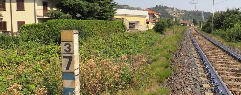 Trovato un cadavere a Chiuduno Scoperto nei pressi della ferrovia