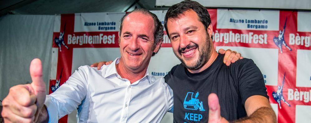 Bèrghem Fest, pienone per Salvini Lanciato un appello sul caso Faac