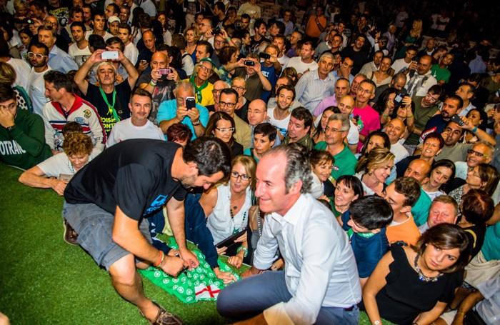Salvini e Zaia alla Bèrghem Fest