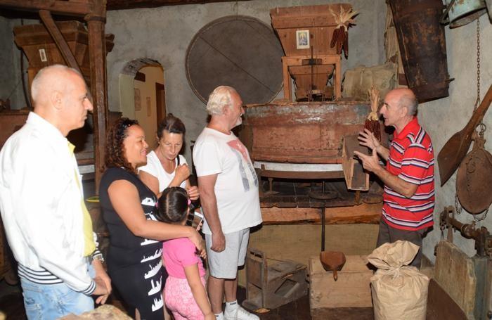 Il museo del mulino con  Sergio Percassi, guida e titolare