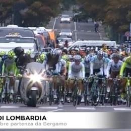 Ciclismo, il Giro di Lombardia parte da Bergamo