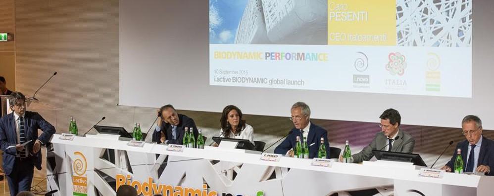 Lancio mondiale di  i.active Biodynamic:   cemento resistente e di qualità estetica