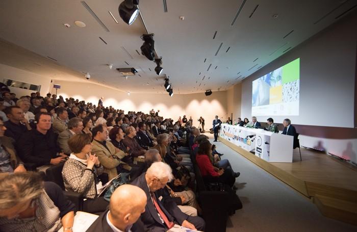 L'evento a Expo per il lancio del nuovo prodotto Italcementi