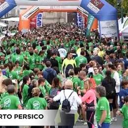 Strabergamo: un'onda verde di oltre 7mila persone