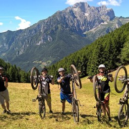 La Val di Scalve in mountain bike - video Scopriamola con dodici mappe Gps