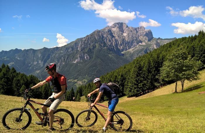 In mountain bike alla scoperta della Val di Scalve