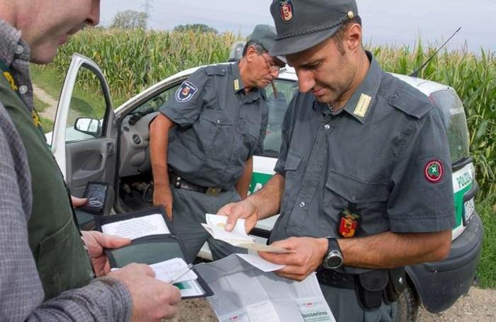 La polizia provinciale e i controlli per la caccia