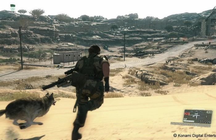 Metal Gear Solid 5: The Phantom Pain, immagini di gioco