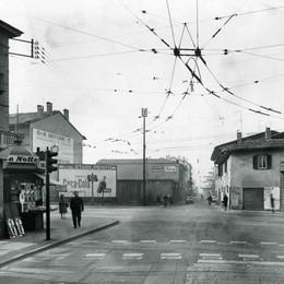 Quando via Moroni non era via Moroni Storia di diligenze, filobus e... traffico