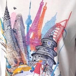 Anche Cividini alla Vogue Night Una t-shirt all'insegna dell'arte