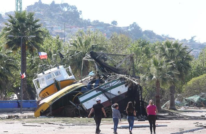 Il disastro per il terremoto a Coquimbo, la città di Carmona