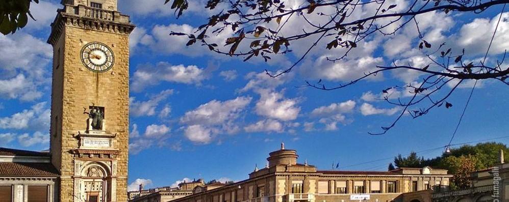 Cielo blu e fa ancora caldo Che giornate spettacolari a Bergamo