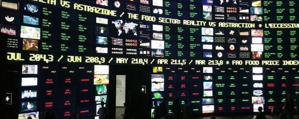 Il muro della Borsa del cibo a Expo è bergamasco: Project Informatica