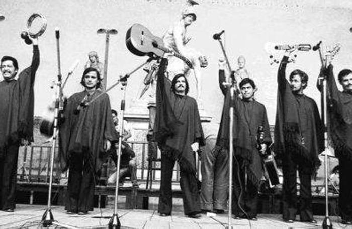 Gli Inti Illimani negli anni 70