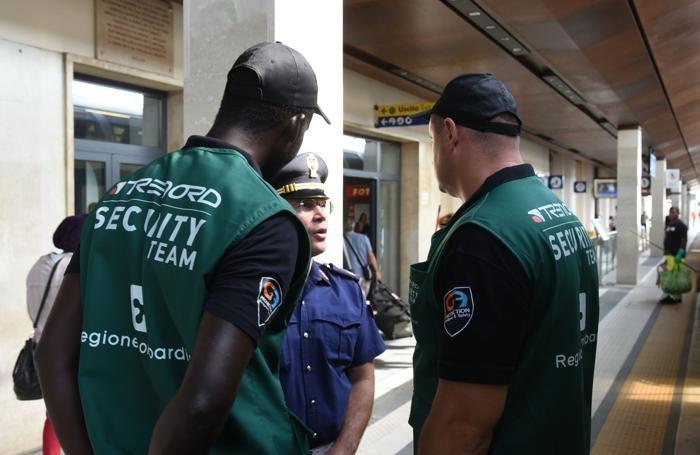 Vigilantes in stazione