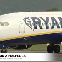 Ryanair, da dicembre voli anche da Malpensa