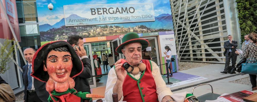Expo, ecco lo stand dedicato a Bergamo Resterà aperto una settimana:  foto e video
