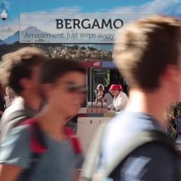 Lo stand di Bergamo all'Expo
