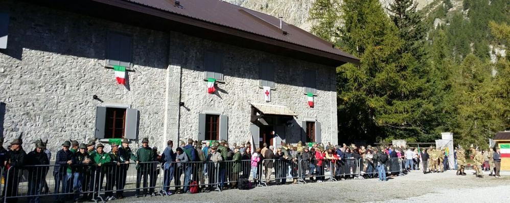 Val Veny, la Caserma Fior di Roccia rinasce grazie agli alpini orobici