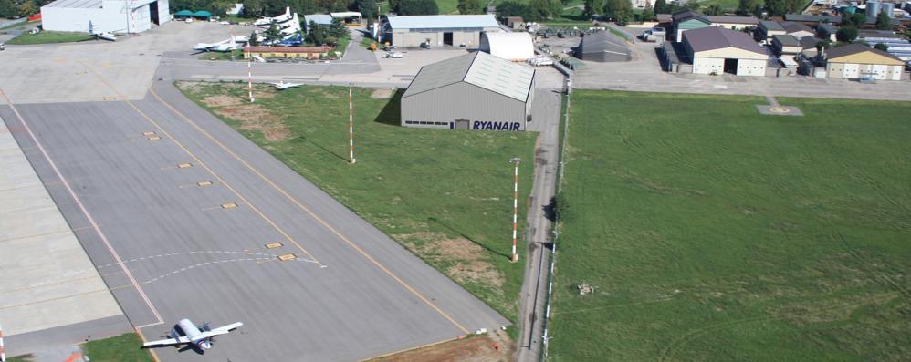 Ryanair, non solo l'hangar riparazioni A breve la scuola per piloti - Foto e Video