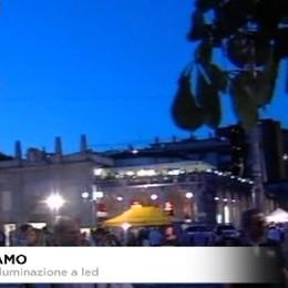 Bergamo, nuova illuminazione, si passa ai led per 15mila punti luce