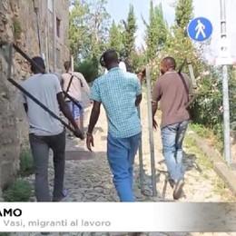 Sentiero dei Vasi, migranti al lavoro