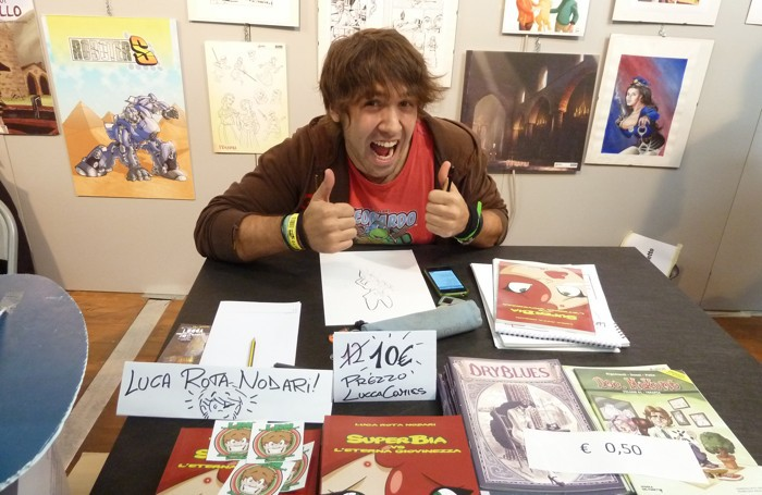 Luca Rota Nodari, disegnatore di fumetti