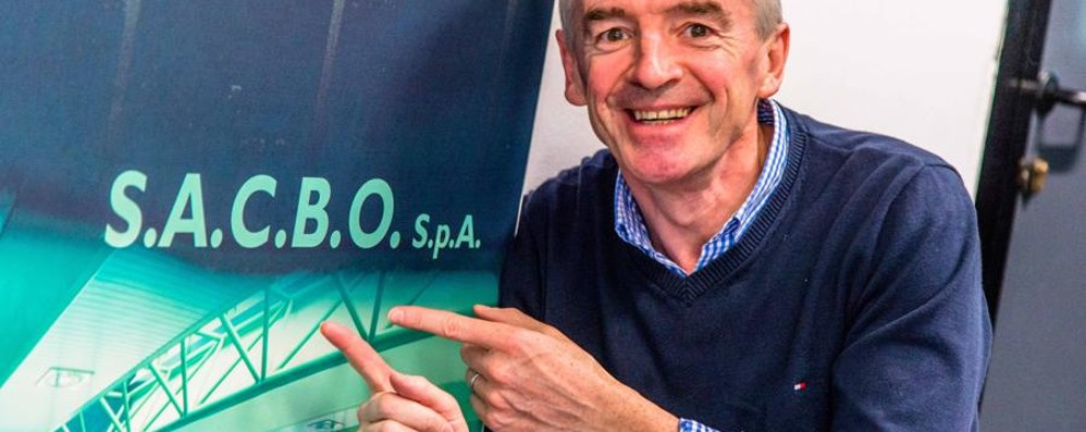 Ryanair, O'Leary vola alto «Cresceremo ad Orio e Malpensa»
