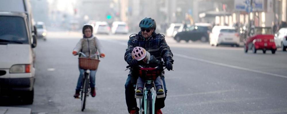 Anche il 31 dicembre senza smog Targhe alterne aspettando la neve