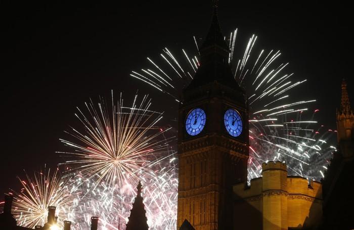 L'ultimo dell'anno a Londra, in Inghilterra