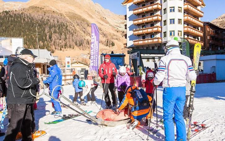 Capodanno sugli sci nelle valli Poca neve, ma buone presenze - Video
