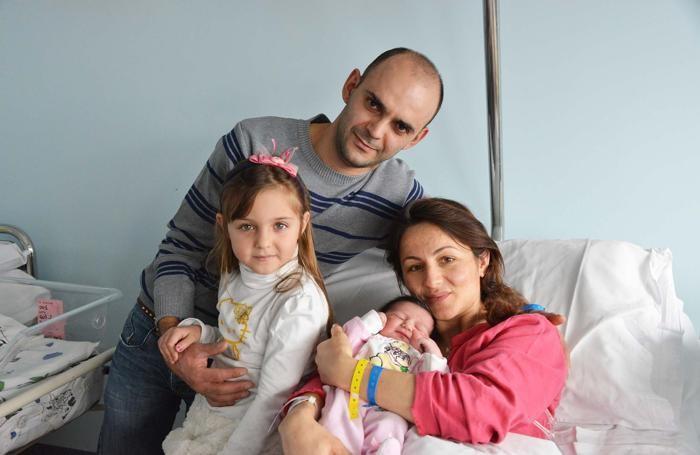 Kristel, prima nata a Treviglio
