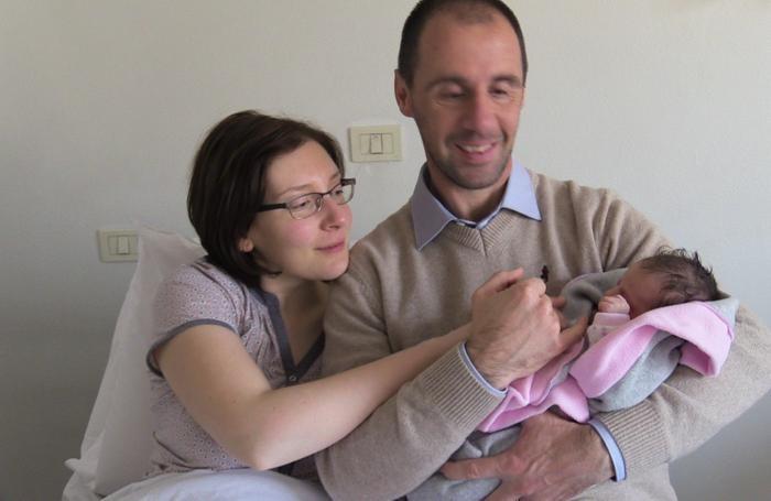 Marta è la prima nata ad Alzano
