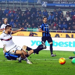 Il gol di Pavoletti al 36' st