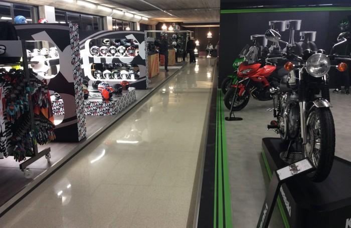 Il nuovo showroom Bruno Moto ad Almè