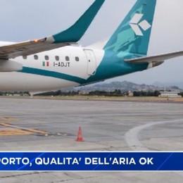 Arpa, qualità dell'aria dell'aereoporto nella norma