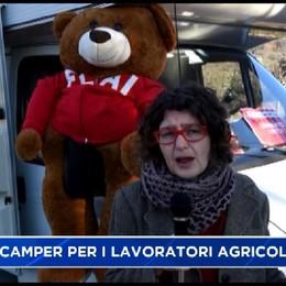 Cgil, viaggio in camper tra le realtà agricole