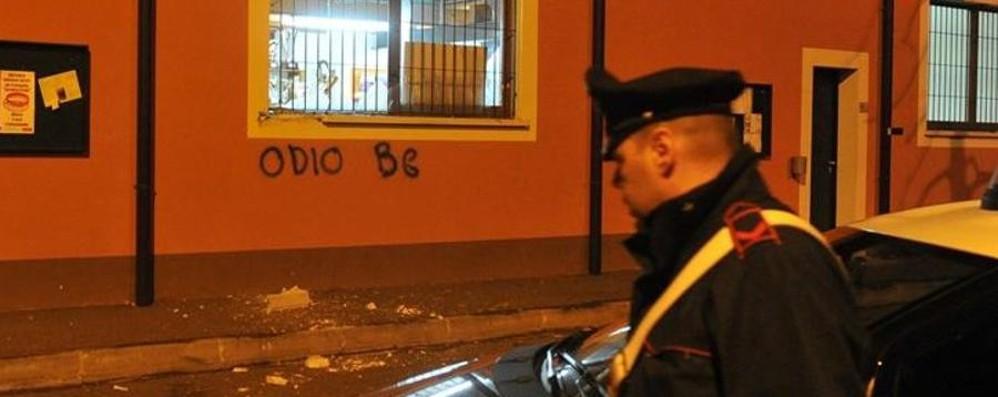 Il Gussago collabora con l'Atalanta Bomba carta e scritta: «Odio Bergamo»