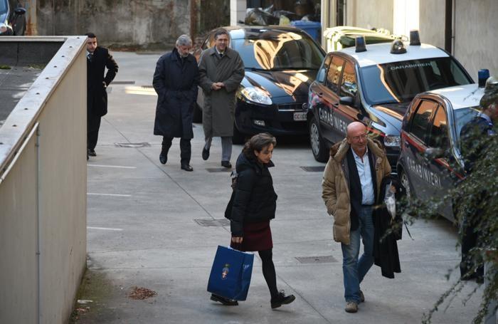 L'arrivo della pm Letizia Ruggeri