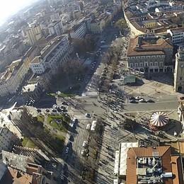 Bergamo ridisegna i quartieri - Mappa Tre rioni in centro, ospedale al Villaggio