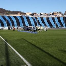 I tifosi dell'Atalanta durante la partita del campionato contro l'Inter