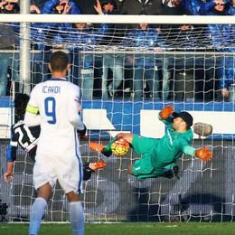 Grande Atalanta contro l'Inter Handanovic salva il risultato: 1-1